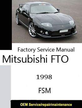 mitsubishi fto workshop manuals free carmanualshub