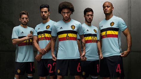Jersey Belgia Home 2016 belgium 2016 away kit released footy headlines