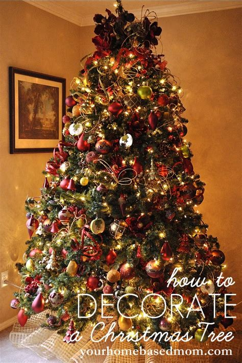 how to decorate a christmas tree a interior design