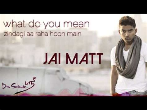 download mp3 free justin bieber what do you mean what do you mean zindagi remix jai matt dr srimix justin
