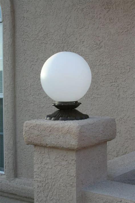 Globe Outdoor Light 12v Globe Fence Light Yardbright Landscape Lighting
