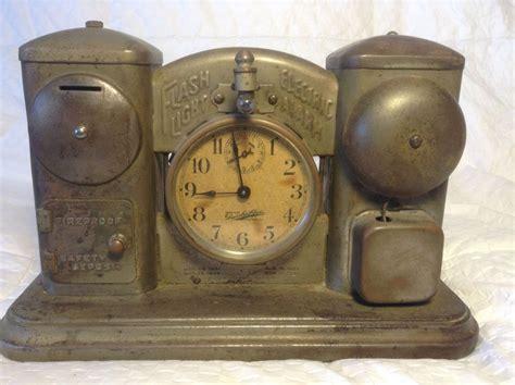 antique darche alarm clock bank flashlight 1901 unique ebay clocks antique