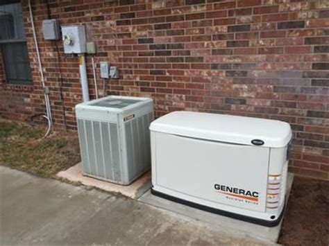 generac guardian air cooled standby generator 16kw lp 16kw ng 200 service