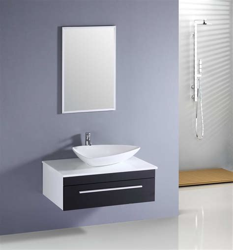 glossy modern bathroom cabinet with mirror hd wallpaper
