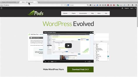 Tutorial Wordpress Pods | wordpres tutorial wordpress training how to use the pods