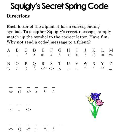 s day secret code secret code puzzle