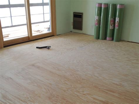 Preparing Subfloor for Laminate Flooring   Wood and