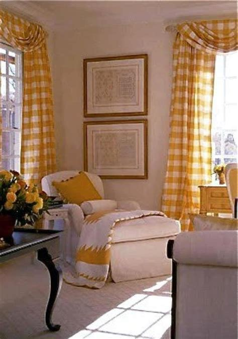 yellow and white checkered curtains yellow gingham curtains kitchen remodel ideas pinterest