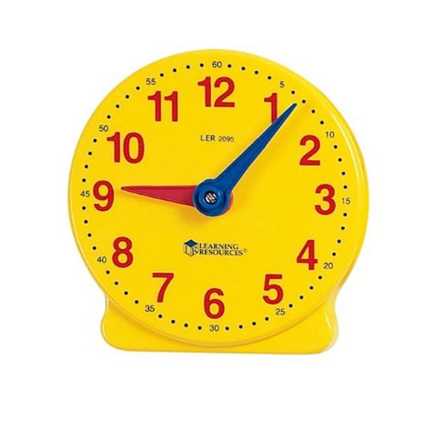 printable toy clock student clock for the classroom