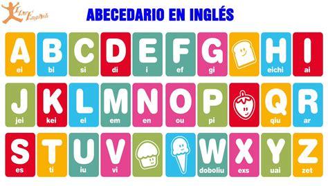 imagenes en ingles del alfabeto alfabeto en ingles pronunciacion 1 letra pronunciaci 243