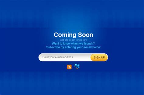free html5 coming soon template ultimate collection of free coming soon and
