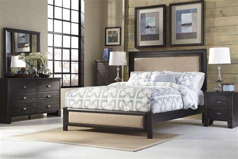 upholstered bed set birstrom upholstered sleigh bedroom set b559 81 96