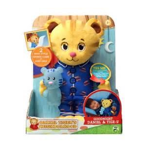 daniel tiger s neighborhood bedtime goodnight daniel amp tigey toy shopko