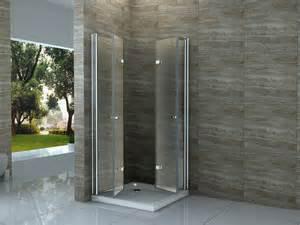 dusch kabine 100 x 80 faltt 252 r glas dusche duschkabine duschwand