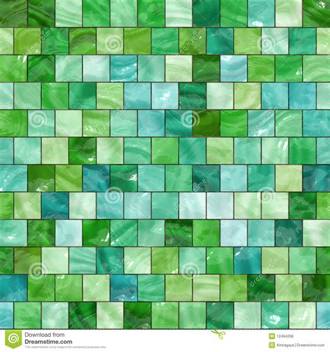 Subway Floor Tiles For Bathroom - seamless green tiles texture royalty free stock image image 12494296