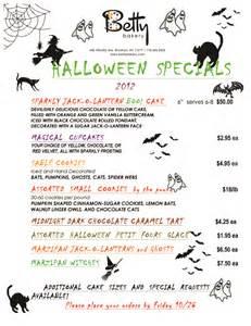 pin halloween menu template free download disneyland paris