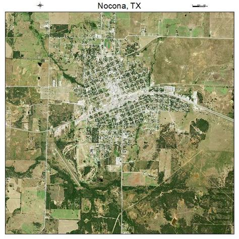 nocona texas map aerial photography map of nocona tx texas