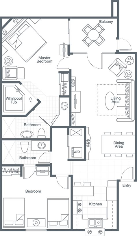 sheraton vistana villages floor plan sheraton vistana 2bed bps marketing