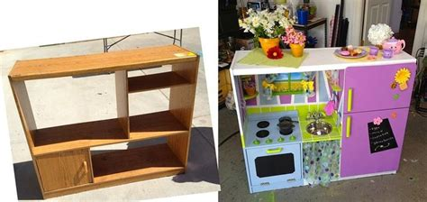 Turn Entertainment Center Into Play Kitchen by Turn An Entertainment Center Into A Kid S Play Kitchen
