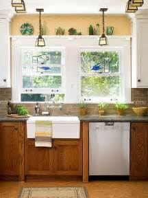 How To Update Kitchen Cabinets by How To Update Oak Kitchen Cabinets With Paint By Bhg