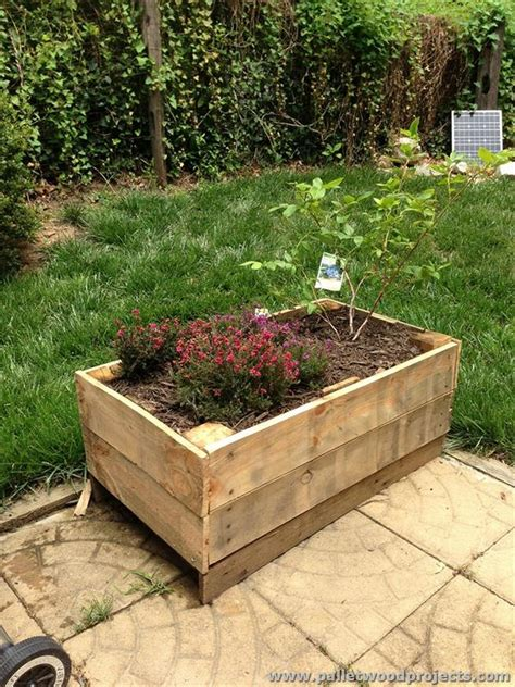 Pallet Wood Planter by Pallet Planter Ideas Pallet Wood Projects