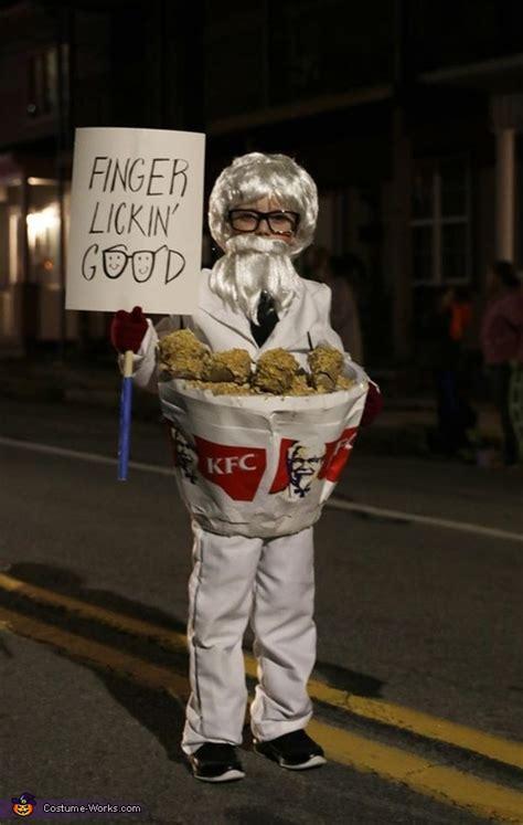 colonel sanders   bucket  chicken costume coolest