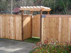 wood fence panels architectural design