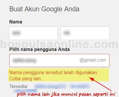 buat akun google resmi cara buat email gmail baru isi pulsa online