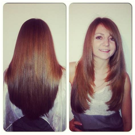 haircuts for long hair front and back view long layers haircut my work pinterest hair grow