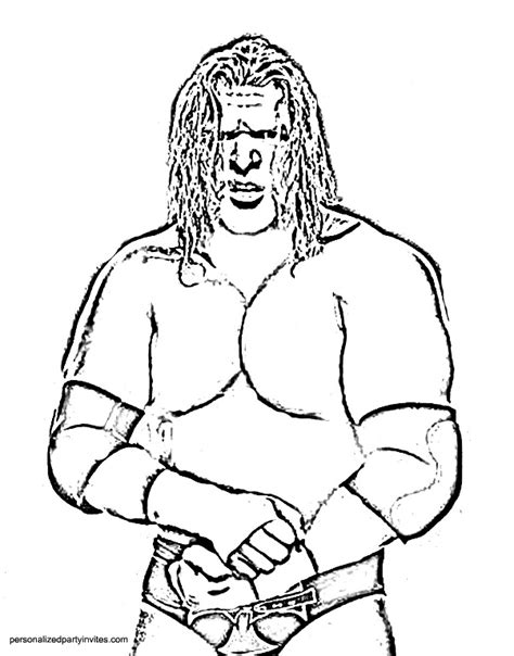 printable coloring pages wrestling wwe printables archives