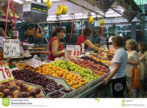 St Joes Food Marketing Mba by St Joseph Food Market Barcelona Spain Editorial Photo