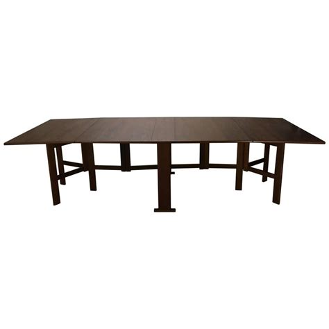banquet dining table large bruno mathsson collapsible banquet dining table at