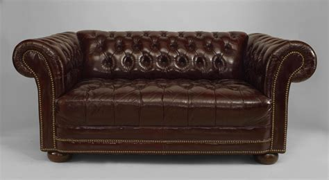 brown leather tufted sofa uncategorized astonishing tufted leather loveseat