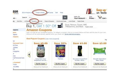 how to use clipped coupons on amazon