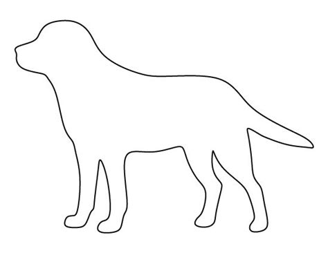 puppy template 25 unique outline ideas on template