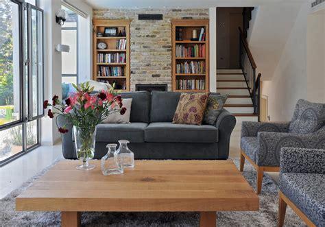 contemporary country living room a renovated country house contemporary living room tel aviv by nurit geffen batim studio