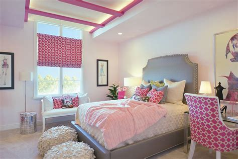 pink and grey girls bedroom 25 cool kids bedrooms that charm with gorgeous gray