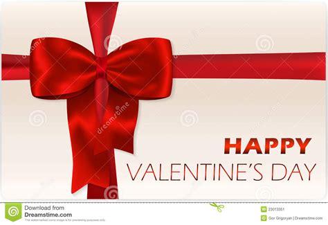 Valentine S Day Gift Card - valentine s day gift card stock image image 23013351