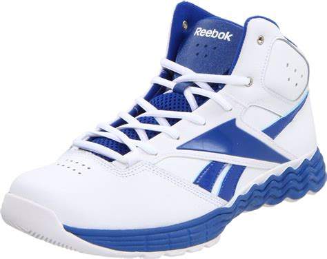reebok basketball shoes for reebok mens thermalvibe basketball shoe in blue for
