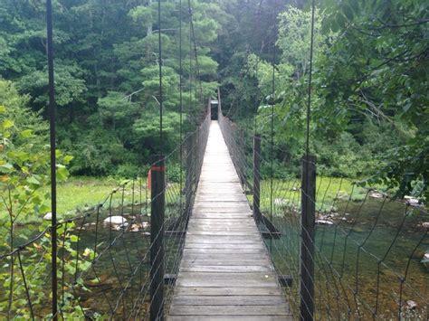 swinging bridge va lifestyle reasons to move to lexington virginia