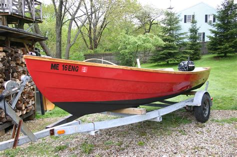 dory flat bottom boat 16 ft flat bottom dory skiff rebuild page 2 microskiff