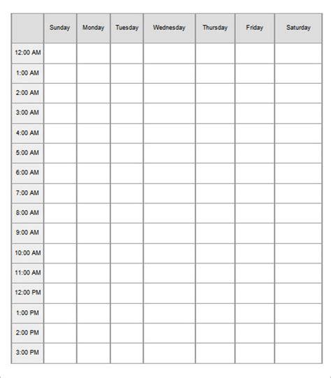 hourly schedule template 47 hourly schedule templates free excel word doc pdf