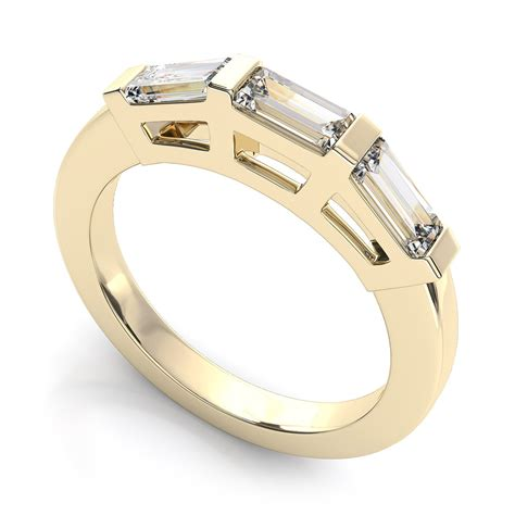 wedding bands with baguettes wedding bands with baguettes