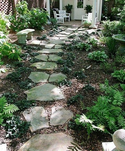 Budget Garden Ideas Inexpensive Walkways And Paths Landscaping Ideas On A Budget Walkway Landscaping Ideas On A