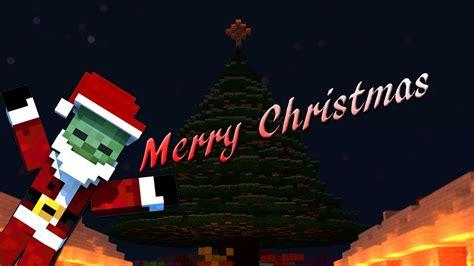 merry christmas minecraft animation youtube