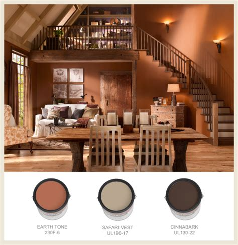 colorfully behr terracotta ancient and modern