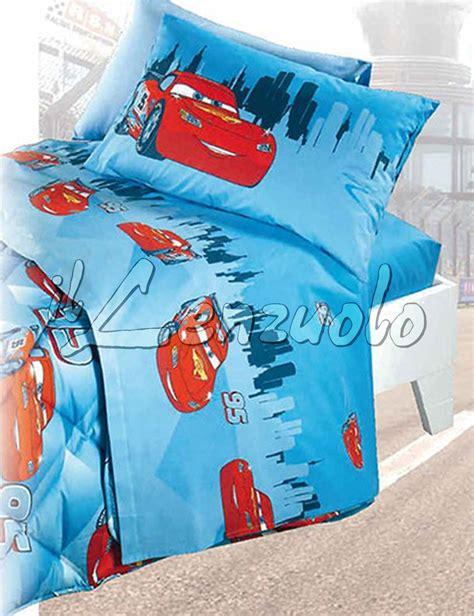completo letto singolo disney lenzuola disney letto singolo cars trend di caleffi