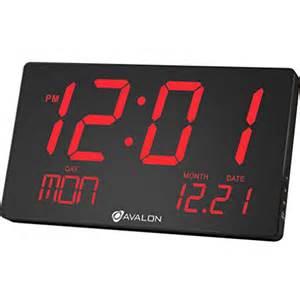 oversized led clock avalon oversized led digital clock extra large display