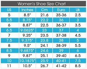 shoes size chart all things shoe size matters choosing the