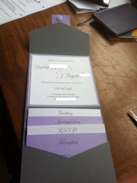 diy wedding invitation i like the organizing and